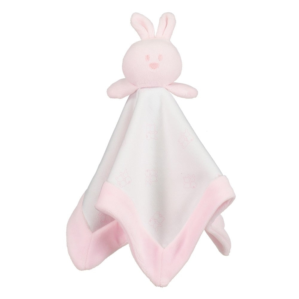 Emile et Rose Bunny Soft Comforter Toy