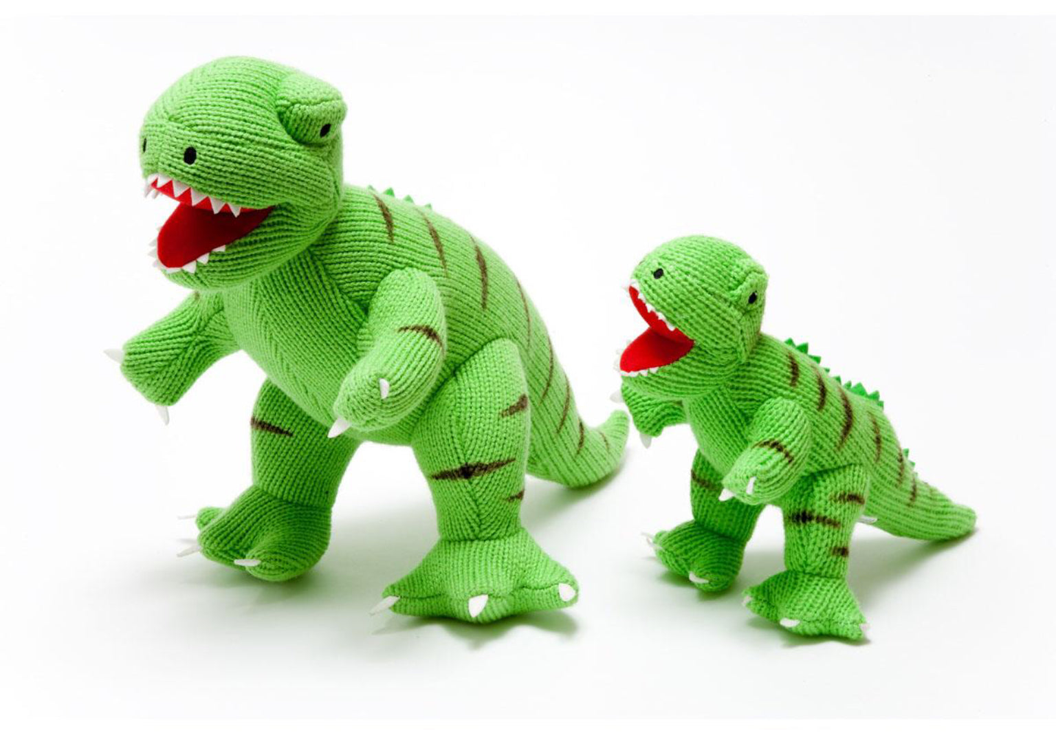 Large Knitted T-Rex  Dinosaur Toy