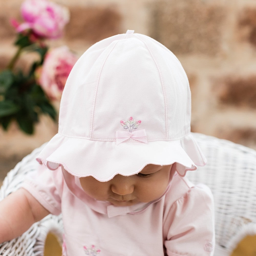Emile et Rose Shayla Sun Hat With Chin Strap