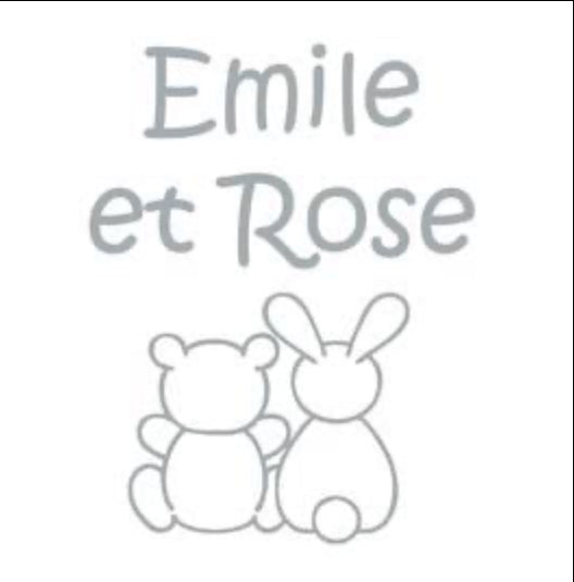Emile et Rose Navy Baker Boy Bradley sun hat SALE