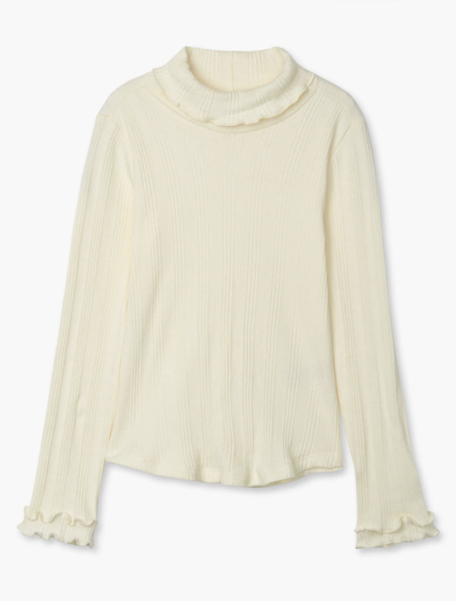 Hatley Winter Cream Turtle Neck