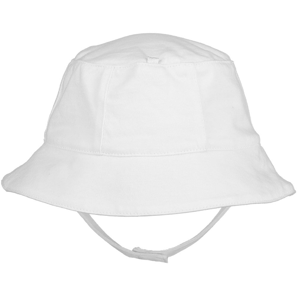 Emile et Rose White Fisherman's Sun Hat SALE