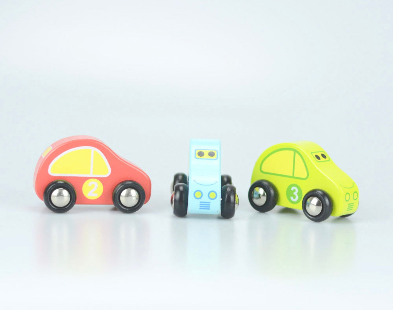 Jumini Wooden Car Carrier Toy