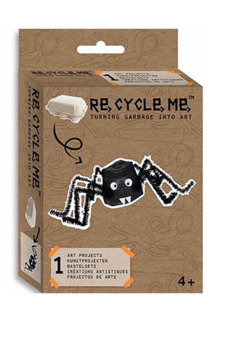 ReCycleMe Turning Garbage into Art Kit Spider