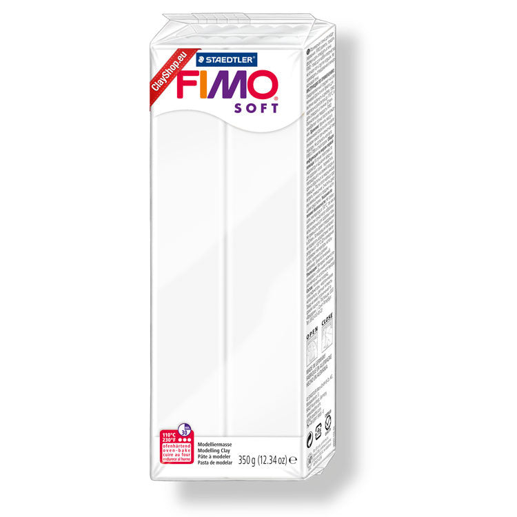 Fimo Soft Large Block - 454g - Weiß