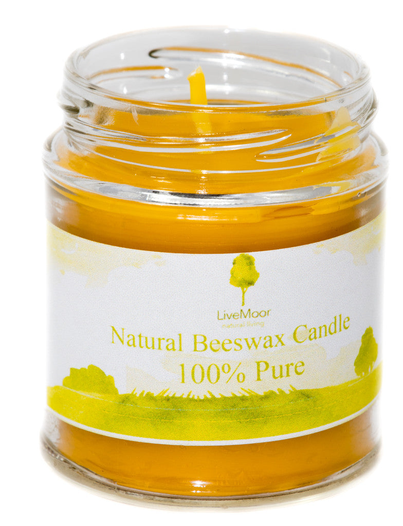 Beeswax Candle 100% Pure & Natural  - Various Sizes