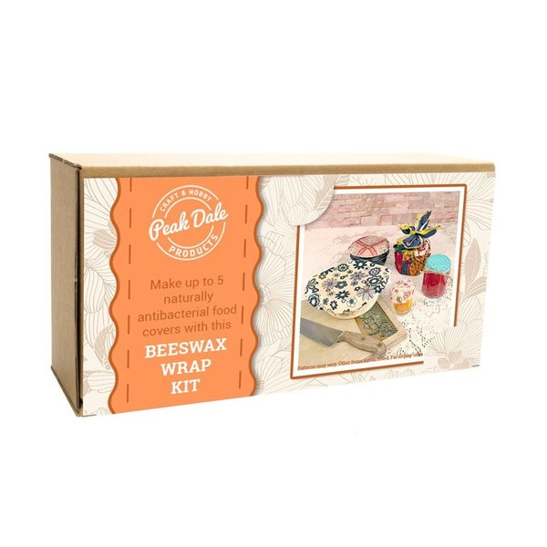 Beeswax Food Wrap Kit - Everything You Need