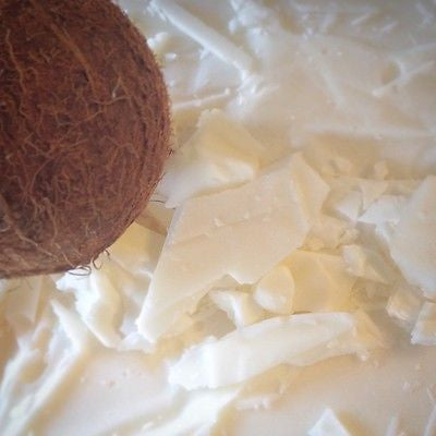Solid Coconut Pulling Oil - Natural White teeth