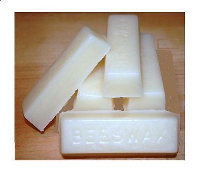 White Beeswax Bars