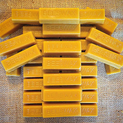 32 Beeswax blocks - Naturally Fragrant Beeswax