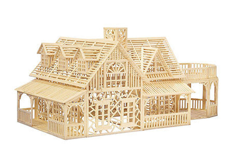 Matchstick Kit - Country House Matchitecture