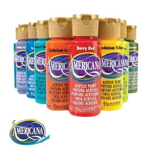 DecoArt Americana Acrylic Paint 59ml 2oz (A-G)