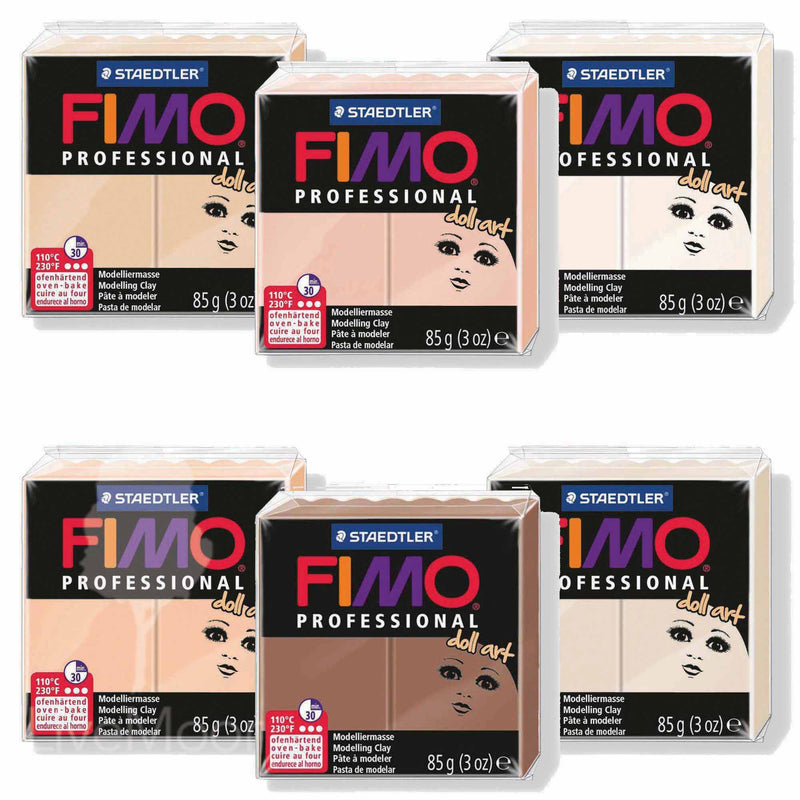 Fimo Professional Doll Art - Packs 85g - Diverses Couleurs