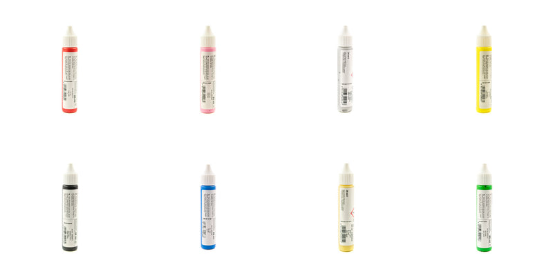 Wax Pens for Candles - Various Colours - 25ml Bottles