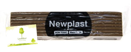 10kg of Newplast Plasticine Alternative - Assorted Colours (20 x Bars)