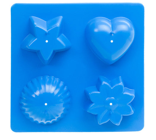 Candle Tray Mold - Makes 4 Shapes