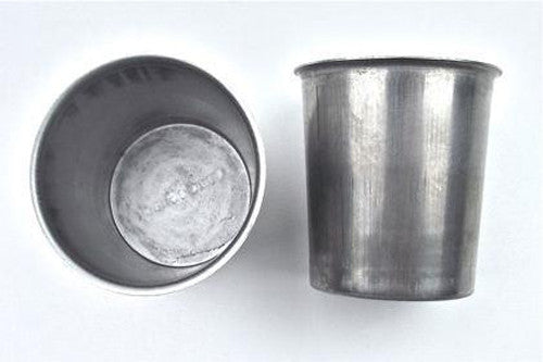 Metal Candle Mould Votives - 2er-Set