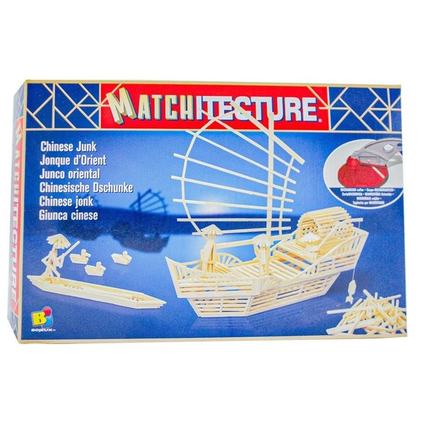 Matchstick Kit - Chinese Junk