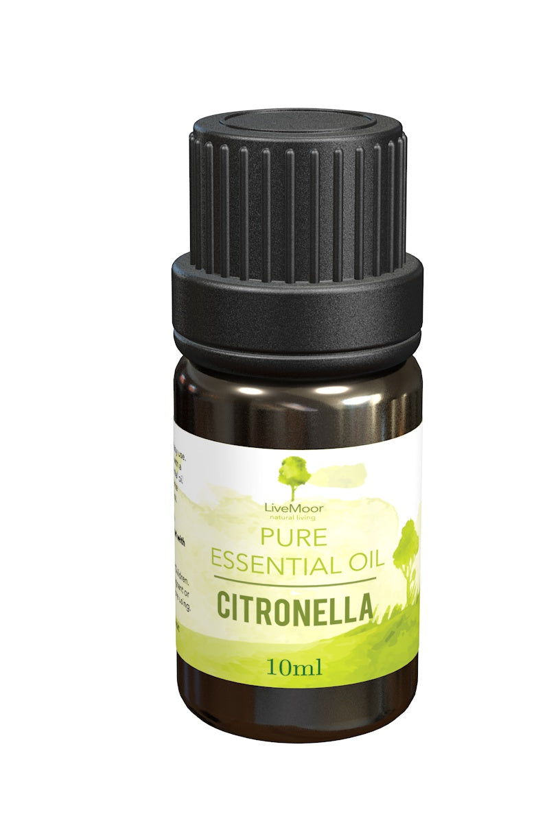 Citronella Essential Oil, 40ml - 4 x 10ml Bottles