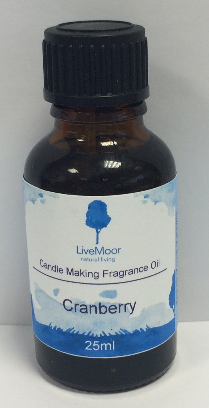LiveMoor Fragrance Oil - Cranberry - 25ml