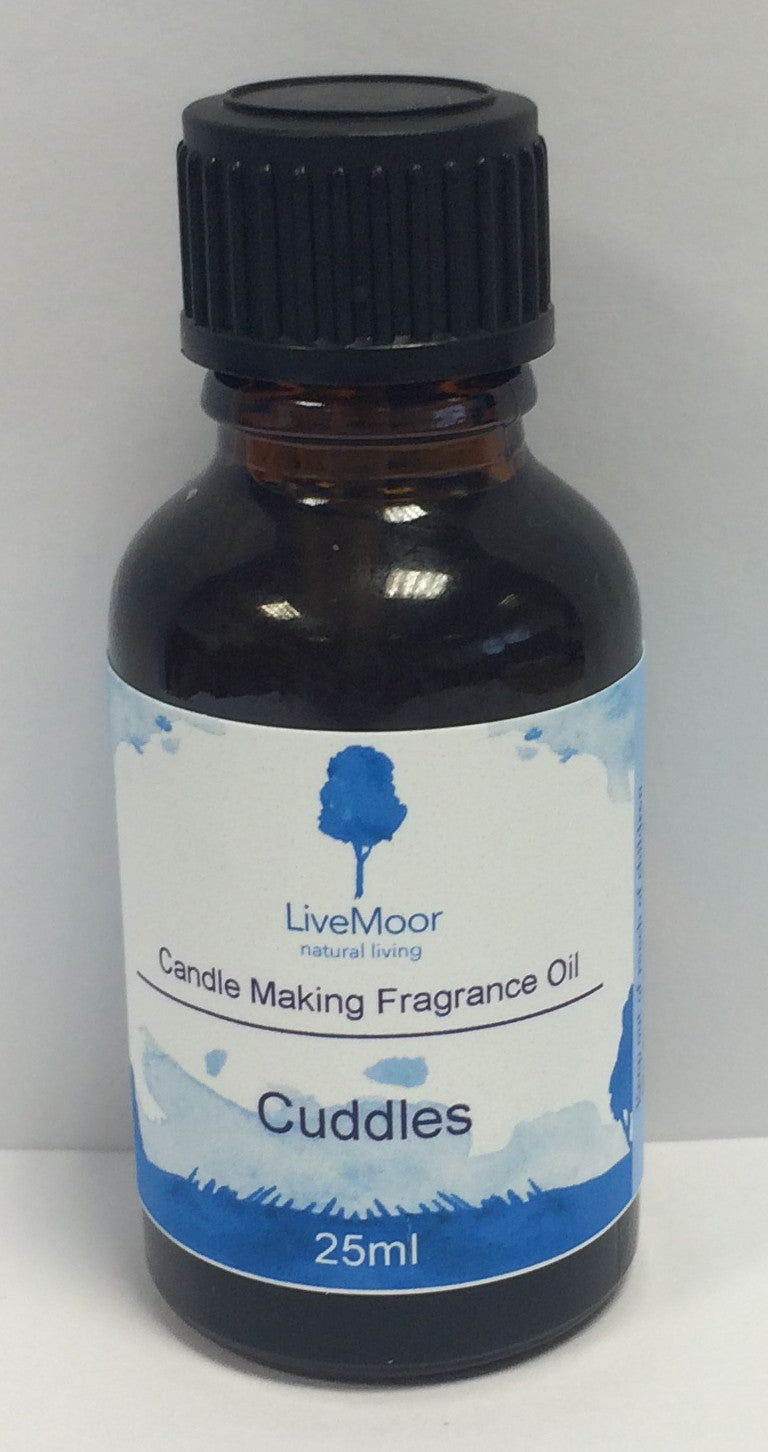 LiveMoor Natural Fragrance Oil - Cuddles - 25ml