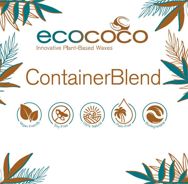 EcoCoco Wax - Container Blend Pellets - Kokoswas