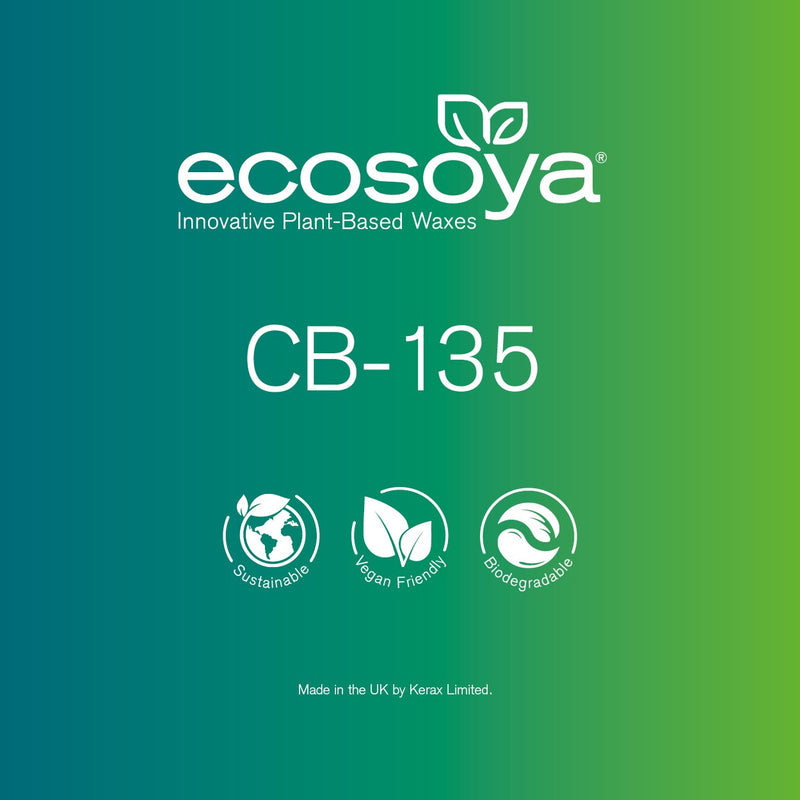 EcoSoya CB-135 - Soy Wax Pellets - Various Sizes