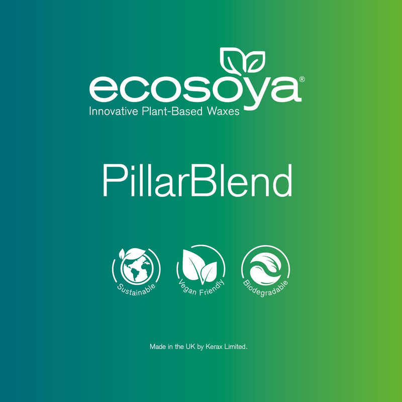 EcoSoya Pillar Blend  - Soy Wax Pellets - Various Sizes