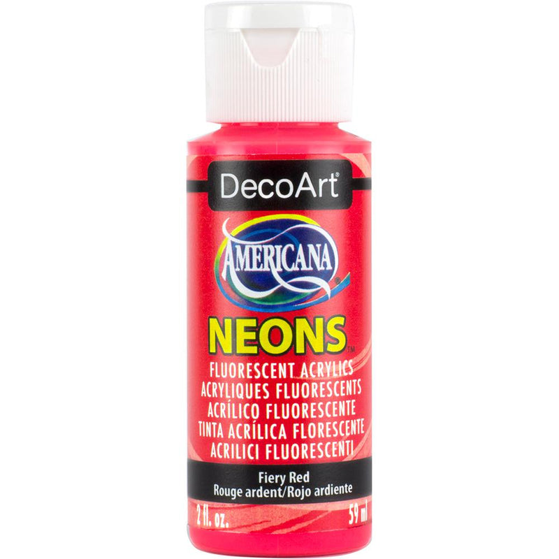 DecoArt Americana - Neon Acrylic Paints - 59ml