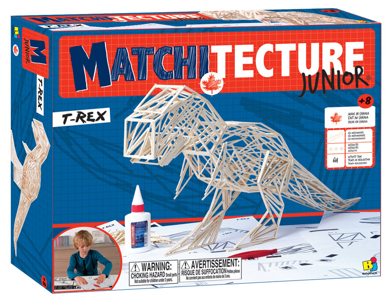 Junior Matchstick Kit - T-Rex