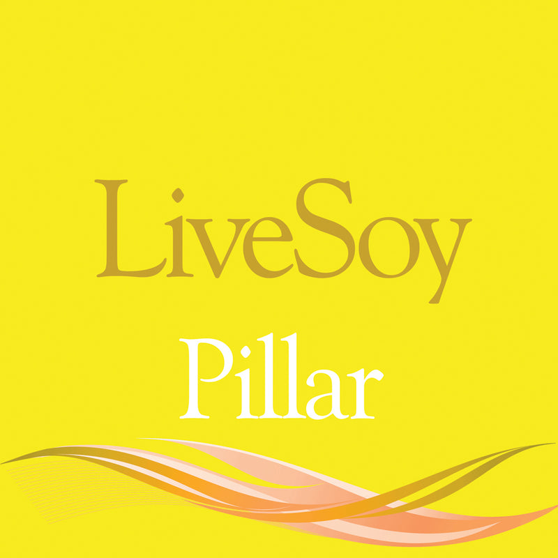 LiveSoy™ (Pillar) Wax Pellets - Quality Soy Wax for Pillar Candles - Various Sizes