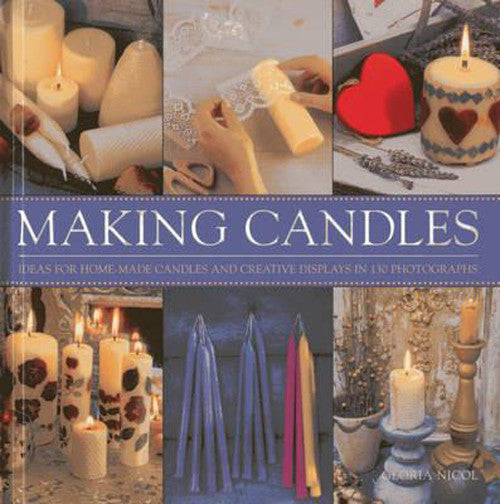 Making Candles - Hardback Book