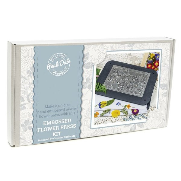 Metal Embossing Kit - Flower Press