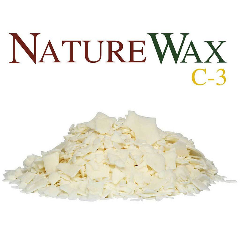 Nature Wax C3 Soy Wax Flakes - Various Sizes