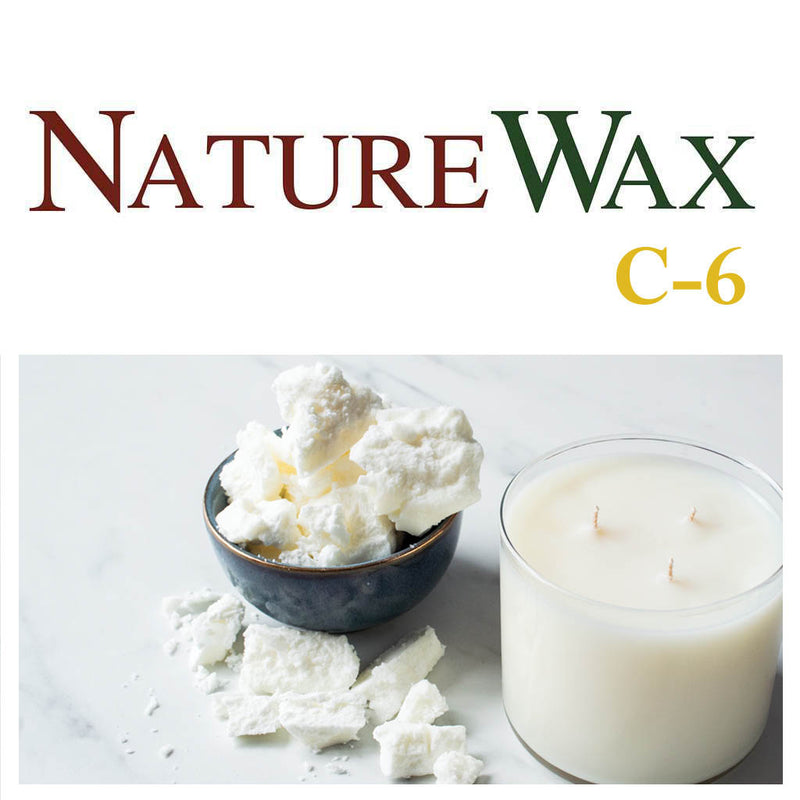 Nature Wax C6 - Soy / Coconut Wax (Container Blend) Block Form - Various Sizes