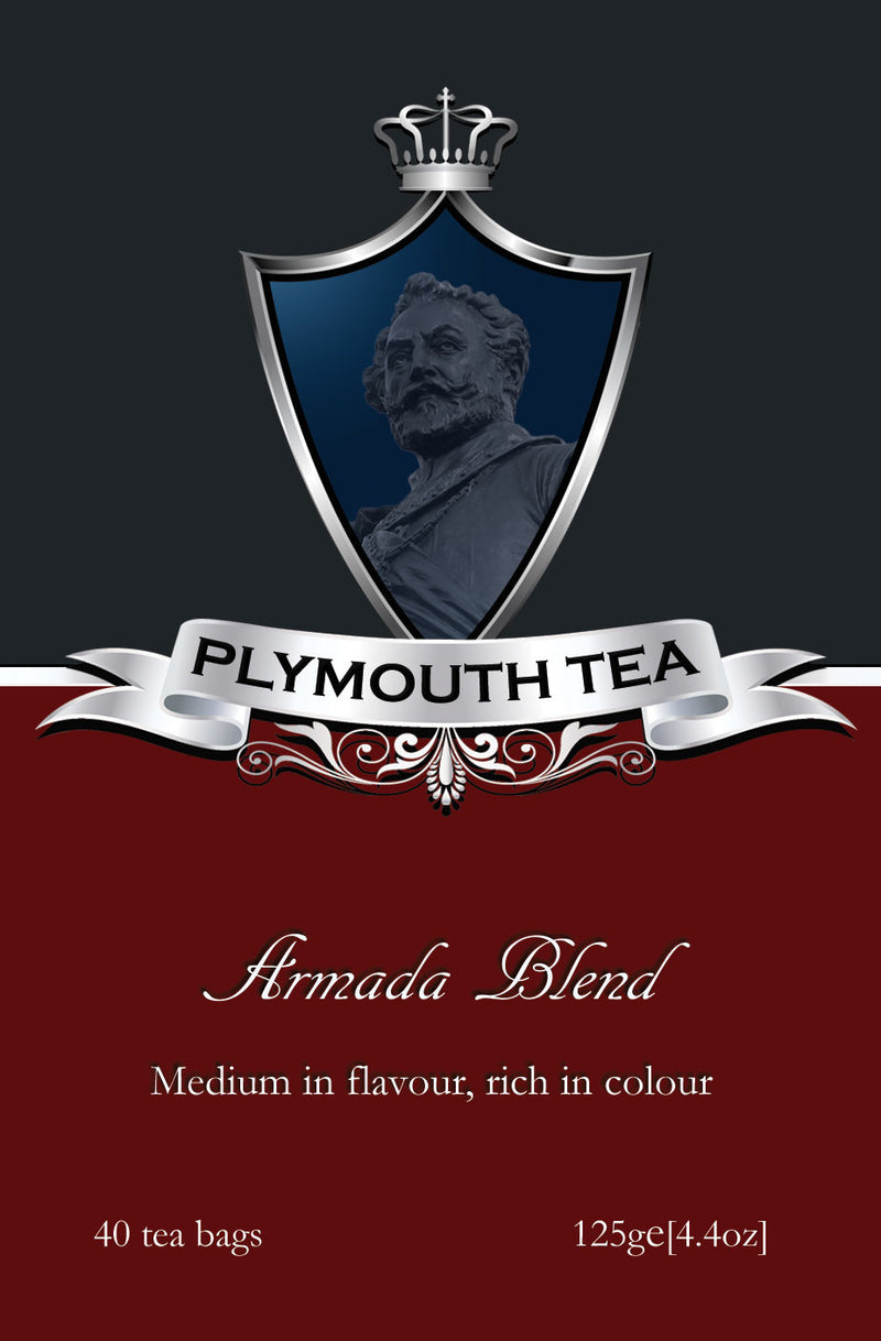 Plymouth Tee - Luxus Tee - Armada Blend - Front
