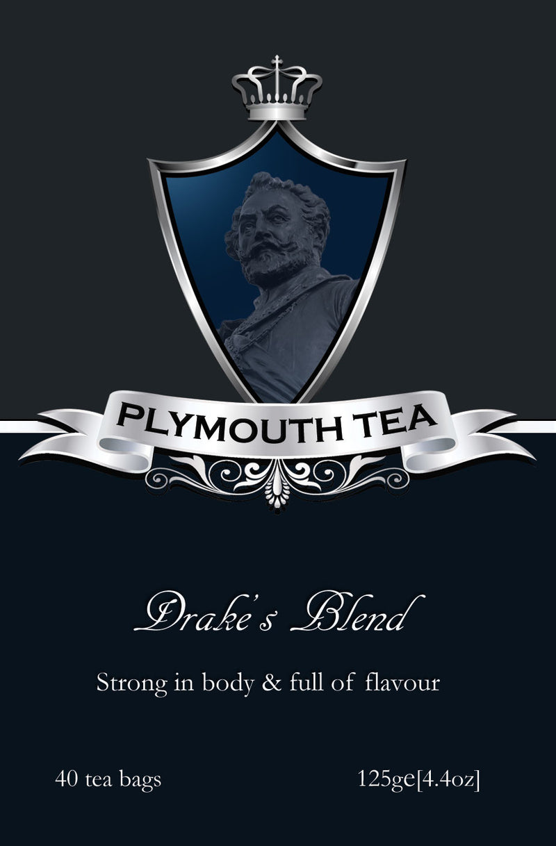 Plymouth Tea - Luxury Tea - Drake's Blend - Front
