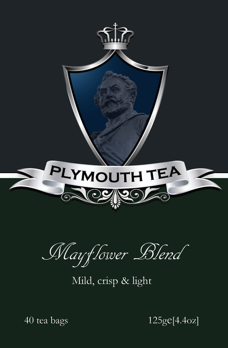 Plymouth Tee - Luxus Tee - Mayflower Blend - Front