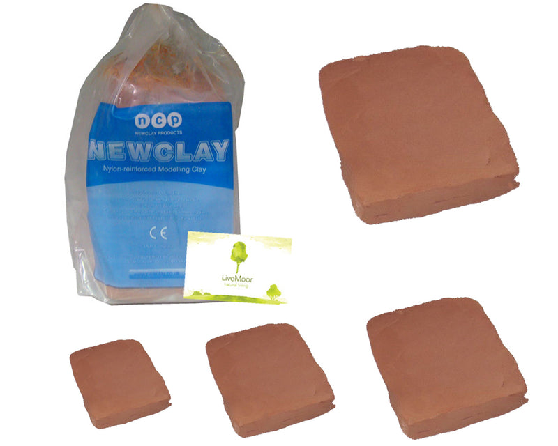 Newclay - Terracotta Air Harden Clay - Bulk Sizes