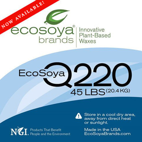 EcoSoya Q220 Wax Pellets - Pellet Form