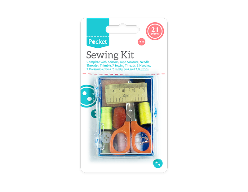 Sewing Kit - 21 Piece