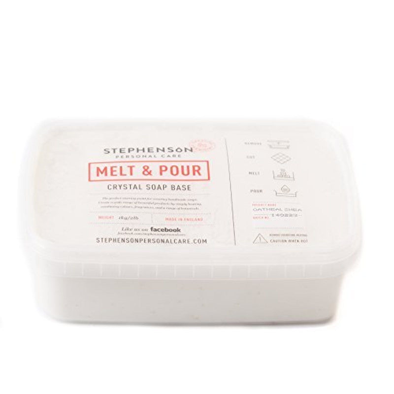 Stephenson - Shea - Melt and Pour Soap Base 100g-11.5kg