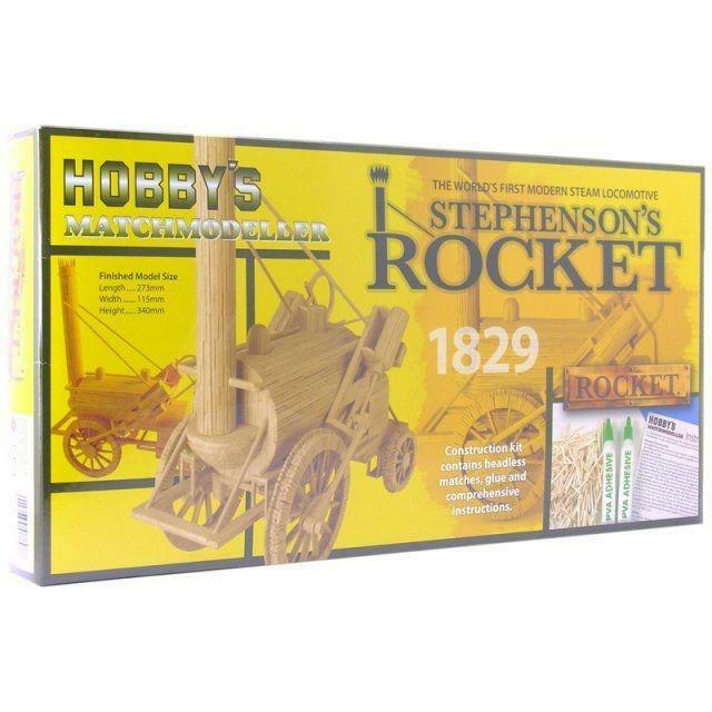 Matchstick Kit - Stephensons Rocket