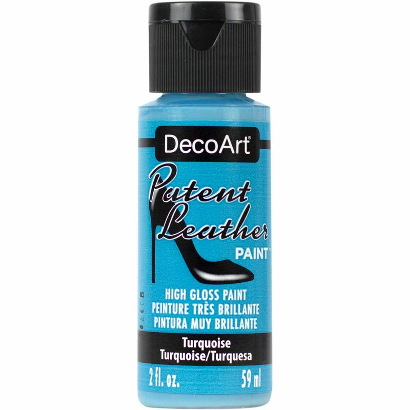 DecoArt Patent Leather - High Gloss Paint 59ml - All Colours