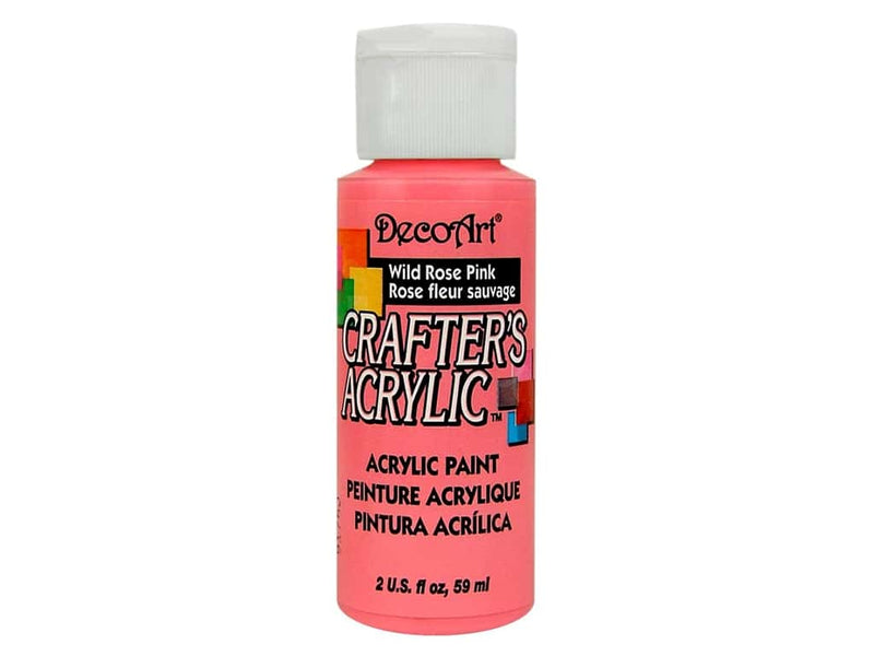 DecoArt Crafters Acrylic Paint 2oz / 59ml Pots - All Colours (Continued)