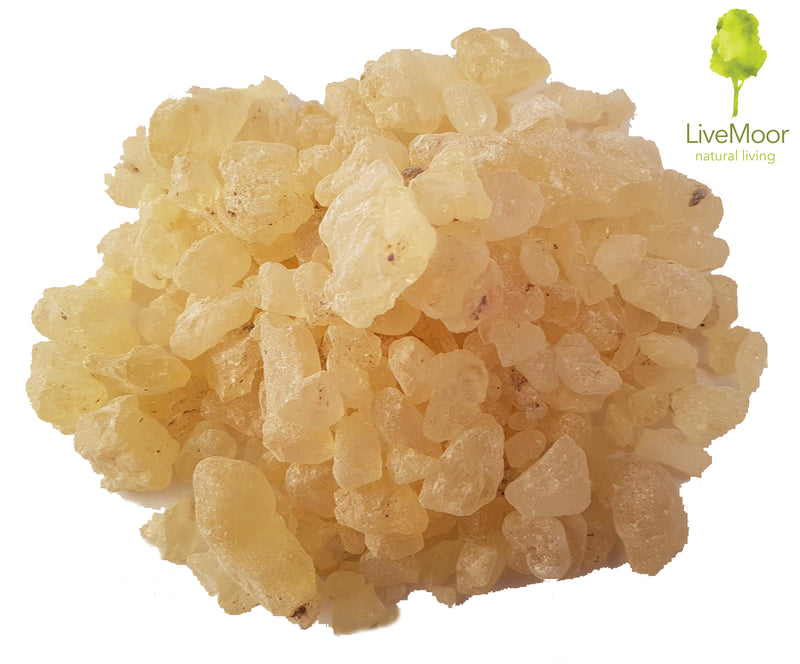 Damar Resin (Lumps) - Grade A Premium Quality by LiveMoor