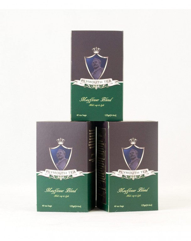 Mayflower Blend - Luxury Tea Bags - Set of 3