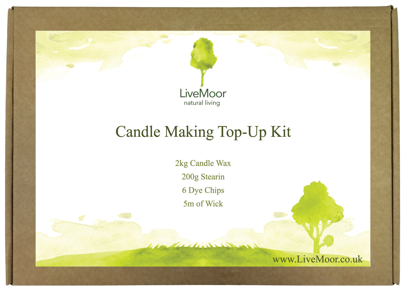 The livemoor candle making top up kit stopboris Image collections