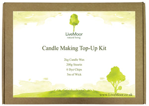 The LiveMoor Candle Making Top Up Kit