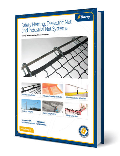 Catalog of Safety Netting, Dielectric Net and Industrial Net Systems